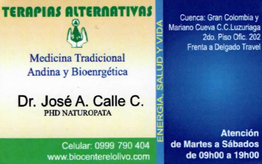 Dr José Calle
